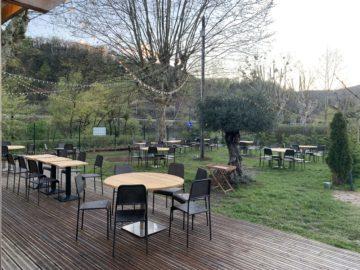 Une terrasse silencieuse et paisible