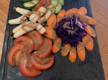 La plancha de légumes