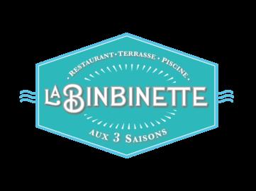 Logo La Binbinette, restaurant ouvert 3 saisons